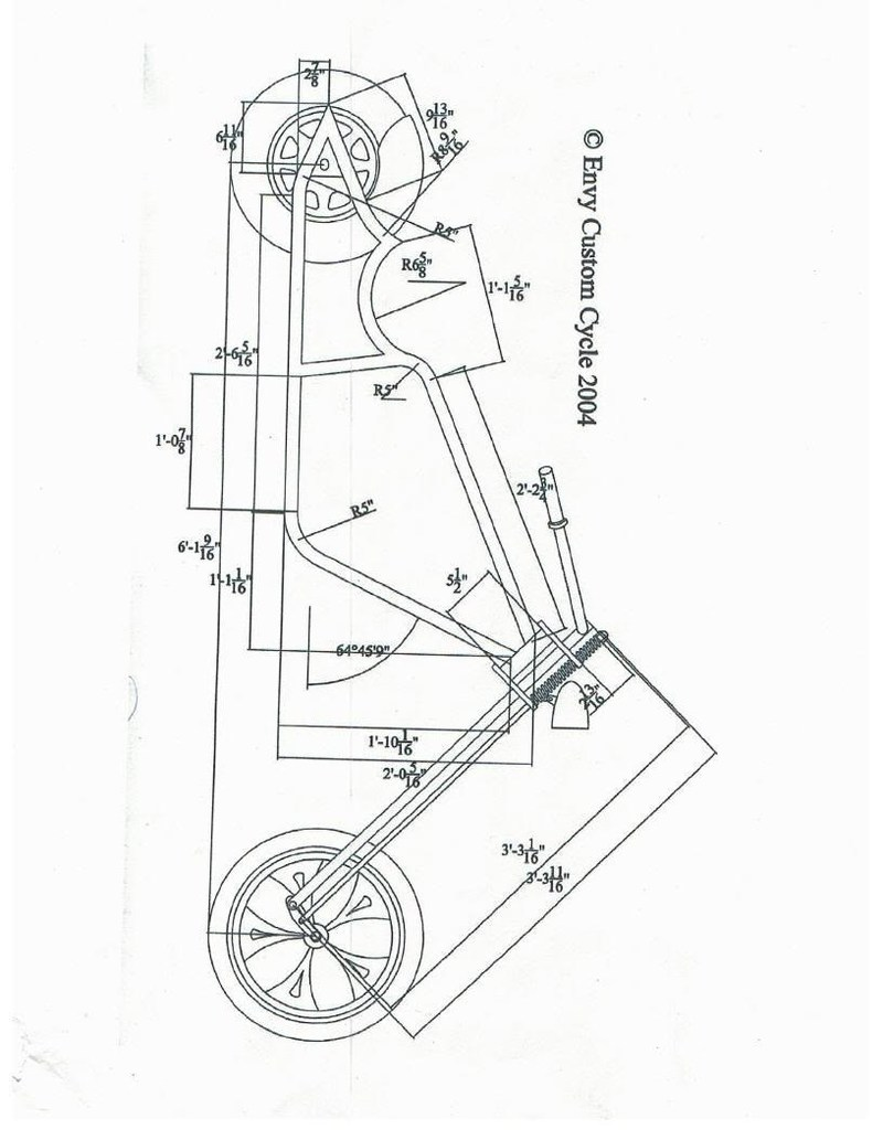 mini chopper frame plans pictures to pin on pinterest
