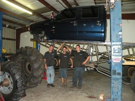 how to build a subframe for a mud truck