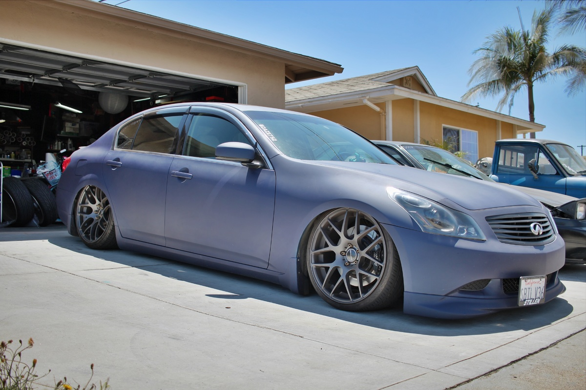 wacko 39 s 2008 infiniti g35 sedan on street source. Black Bedroom Furniture Sets. Home Design Ideas