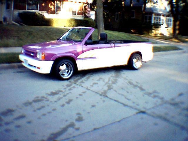 pinkmazdas 1986 Mazda B Series Truck photo