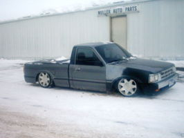 bagged90mazdas 1990 Mazda B Series Truck photo thumbnail