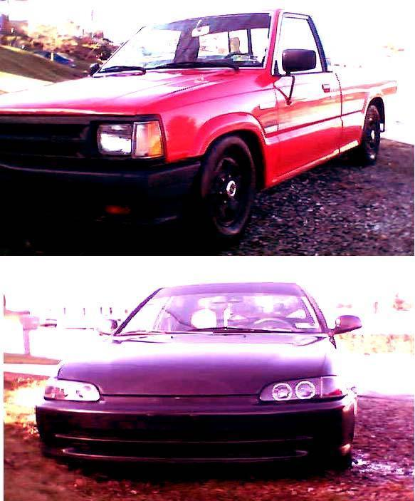 shadystuntsbitchs 1988 Mazda B Series Truck photo