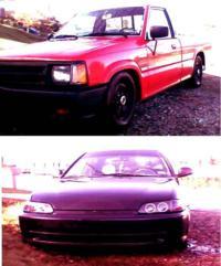 shadystuntsbitchs 1988 Mazda B Series Truck photo thumbnail