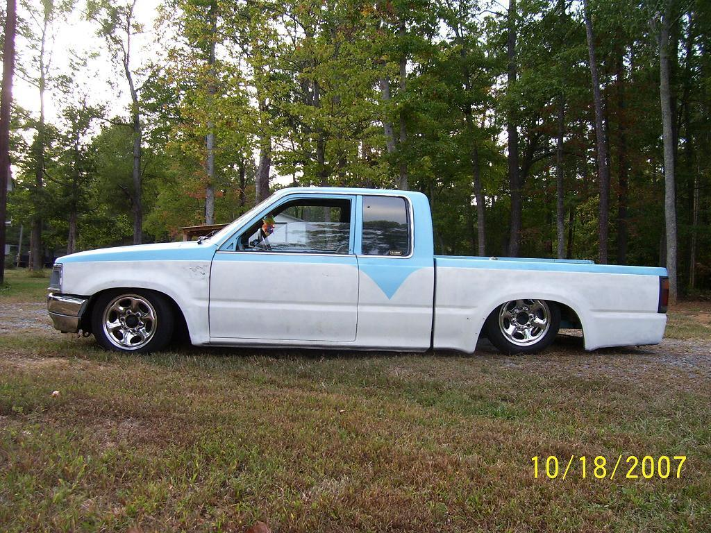bagged_87s 1987 Mazda B Series Truck photo