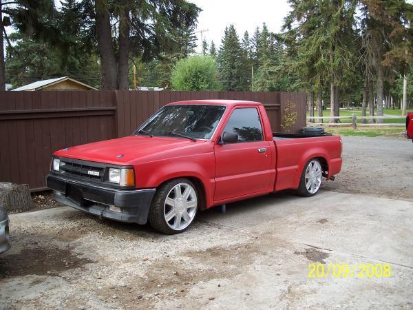 racer xs 1988 Mazda B Series Truck photo