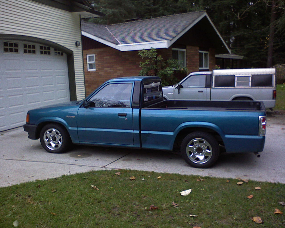 mazdamatteos 1992 Mazda B Series Truck photo