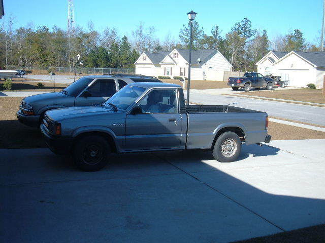carolinasleds 1993 Mazda B Series Truck photo
