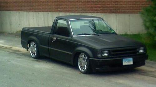 droppedb-2000s 1986 Mazda B Series Truck photo