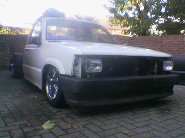 bikeriders 1991 Mazda B Series Truck photo