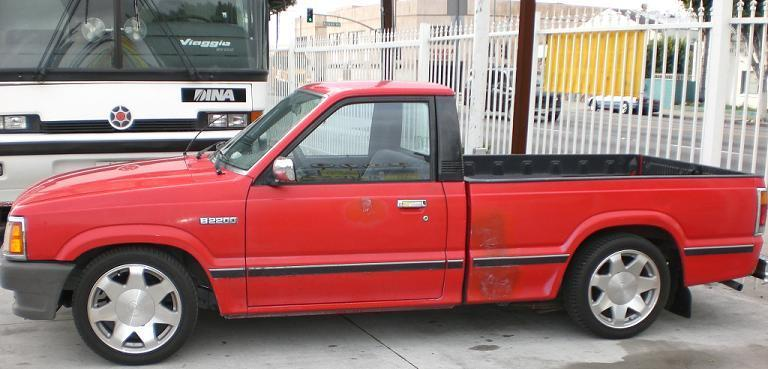 flapps323s 1993 Mazda B Series Truck photo