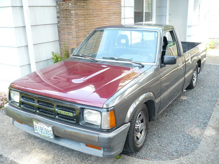 seattle mazda guys 1986 Mazda B Series Truck photo