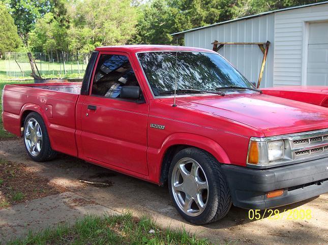 oneups 1993 Mazda B Series Truck photo