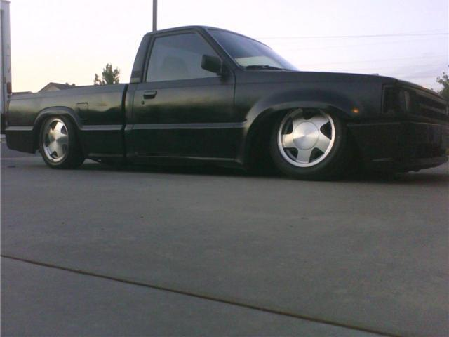 bagged86b2000s 1986 Mazda B Series Truck photo