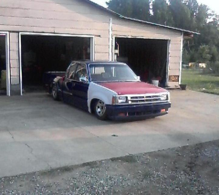 87mazdaslammed1s 1987 Mazda B Series Truck photo