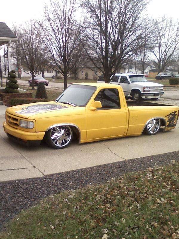 bodydroppedmazdains 1994 Mazda B Series Truck photo