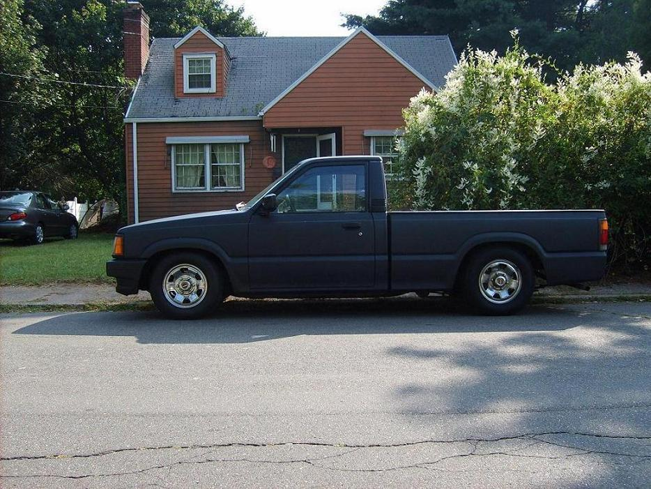 uglyblacktrucks 1988 Mazda B Series Truck photo