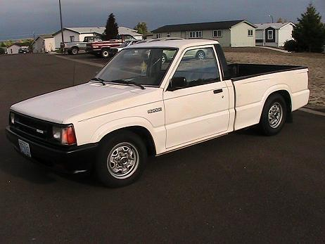 mazdarockers 1987 Mazda B Series Truck photo