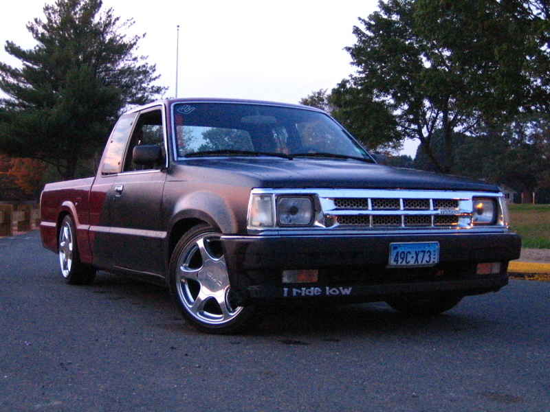 slamsonthedawgmasters 1993 Mazda B Series Truck photo