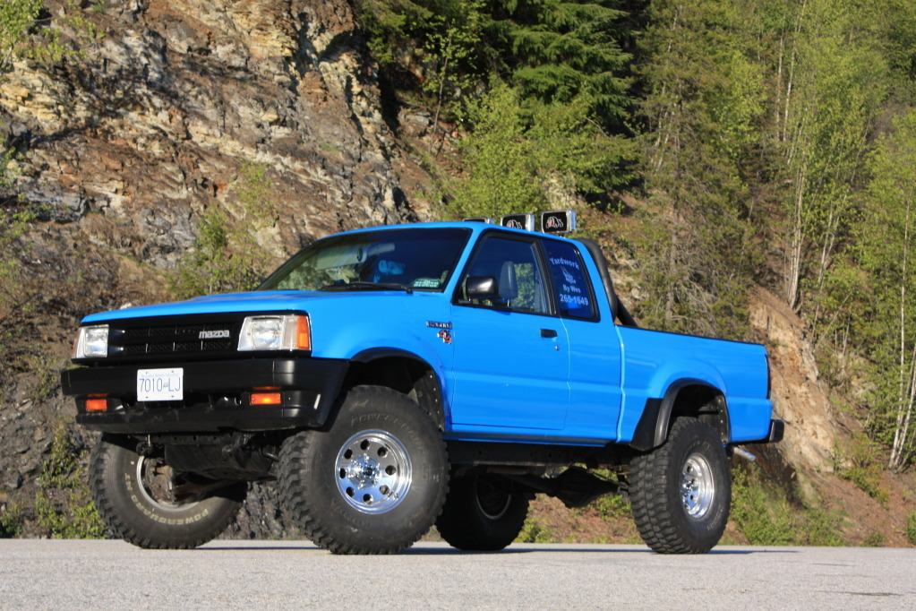 wes4190s 1991 Mazda B Series Truck photo