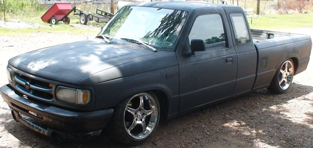 slammedfazdas 1997 Mazda B Series Truck photo