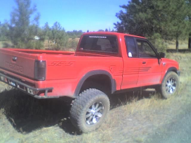 cowboys 1990 Mazda B Series Truck photo