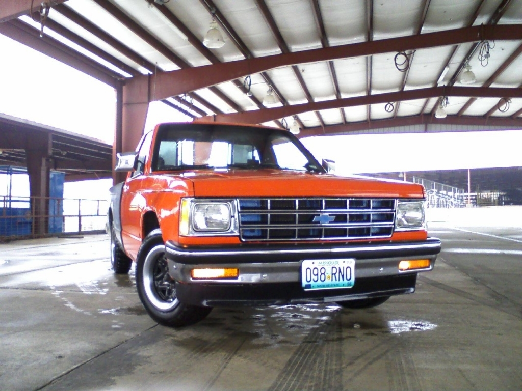 87 brown dawgs 1985 Chevy S-10 photo