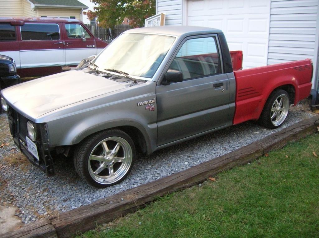 vrtclychlngdb22s 1991 Mazda B Series Truck photo