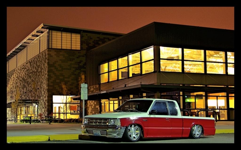 layinlowmazdas 1990 Mazda B Series Truck photo