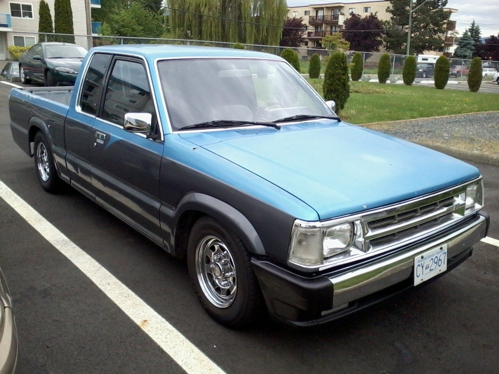 addiktions 1989 Mazda B Series Truck photo