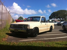 slammedb26is 1989 Mazda B Series Truck photo thumbnail