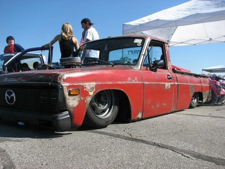 dragginyinzs 1976 Mazda B Series Truck photo