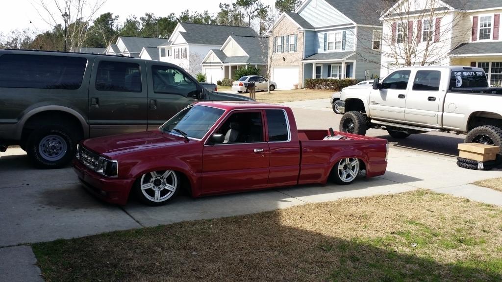 lowryder85s 1992 Mazda B Series Truck photo