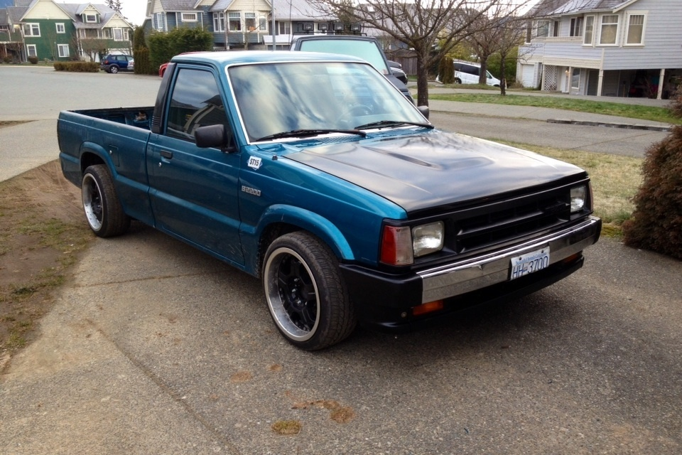 tire busters 1993 Mazda B Series Truck photo