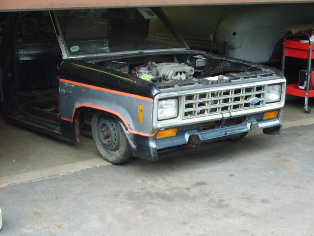 diabolic kustomss 1983 Ford Ranger photo