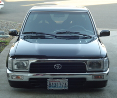 zip tyds 1990 Toyota Hilux photo thumbnail