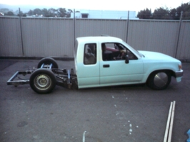 hng-10ws 1991 Toyota Hilux photo thumbnail