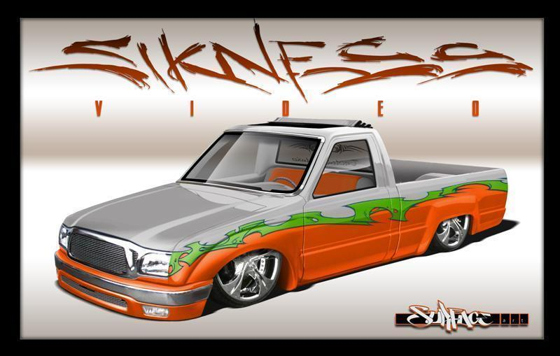 siknessvideos 1988 Toyota Hilux photo