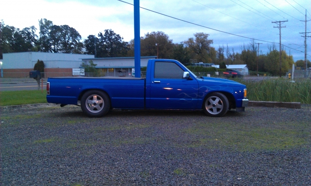 flamess 1986 Chevrolet S10 photo