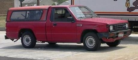 cowboy daves 1988 Dodge D50 photo thumbnail