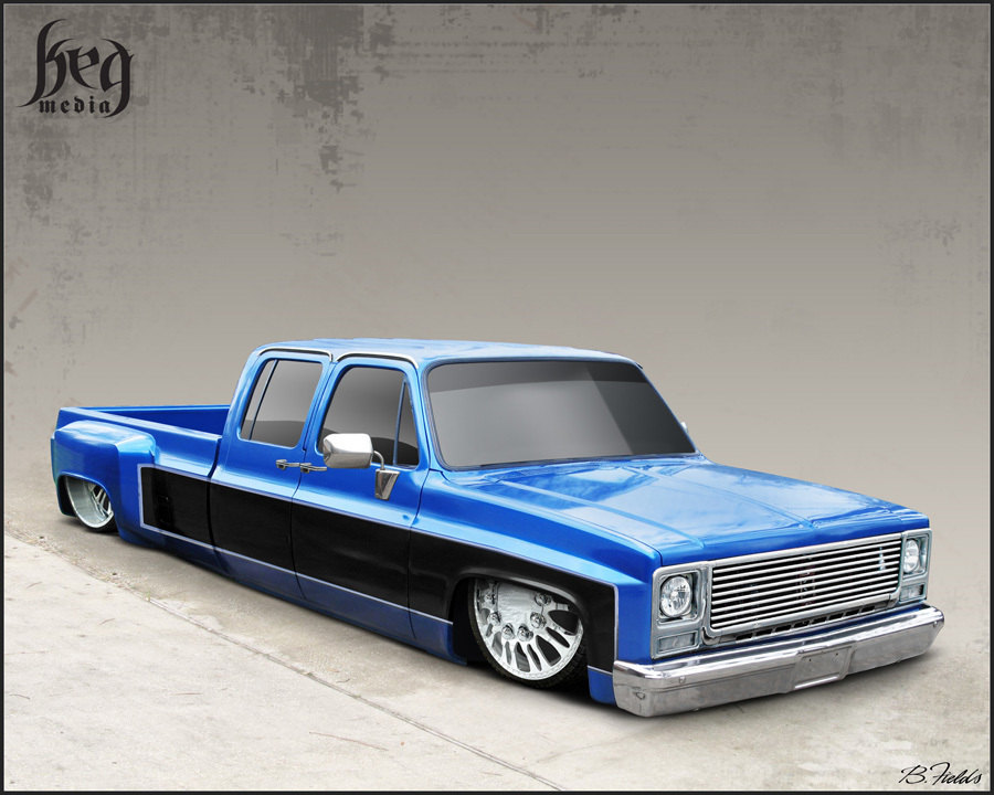 liljlowriders 2000 Chevrolet C3500 photo