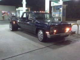 midnightblue22s 1987 Chevrolet C3500 photo thumbnail