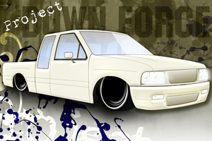 downforces 1991 Isuzu Pick Up photo thumbnail