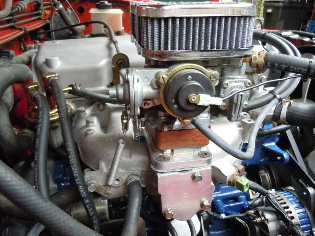 Mazda B2200 Weber Carb Install