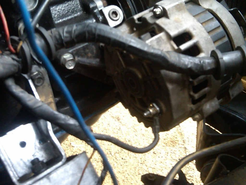 [ZTBE_9966]  How To Wire a GM Alternator to b2200 - Street Source | Mazda B2200 Engine Wiring |  | Street Source