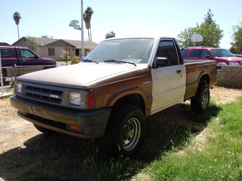 Tuna's 1987 Mazda B2000 build. - Street Source