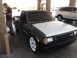 Silver87B2200s 1987 Mazda B Series Truck photo thumbnail