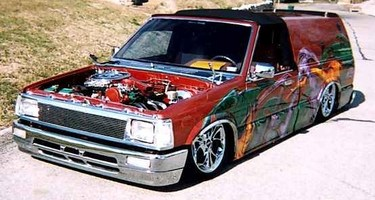 lodawgs 1987 Mazda B2200 photo thumbnail