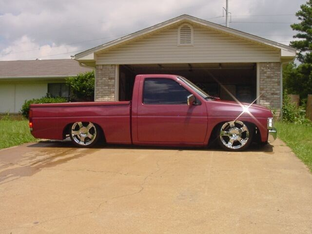 slammed97nissans 1997 Nissan Hard Body photo