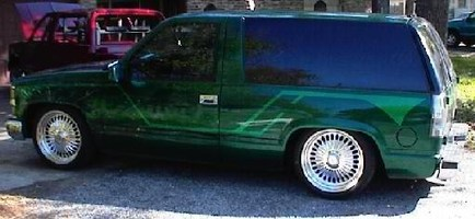 low-lows 1998 Chevrolet Tahoe photo thumbnail