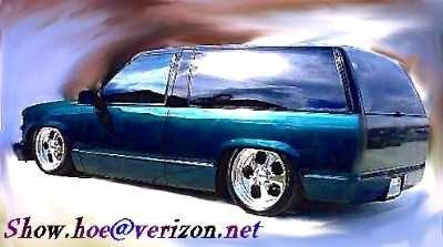 SHOWHOEs 1998 Chevrolet Tahoe photo